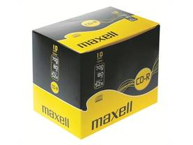 CD-R Maxell 80 XL-S 10mm case/10 - Muistitikut, CD-, DVD-levyt - 393593 - 1