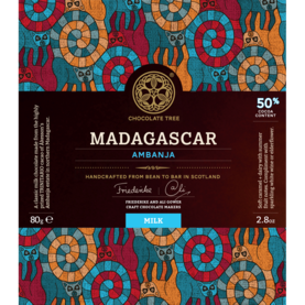 Chocolate Tree Madagascar Ambanja Milk 50% - Laatusuklaa - 920603