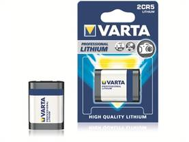 Paristo Varta Professional Lithium Photo 2CR5 - Paristot, varavirtalähteet - 252097 - 1