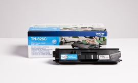 Brother DCP-L8400CDN/L8450CDW 3500s. cyan - Laserkasetit - TN-326C - 1