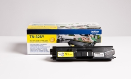 Brother DCP-L8400CDN/L8450CDW 3500s. kelt. - Laserkasetit - TN-326Y - 1
