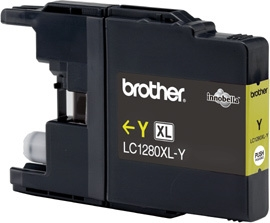 Brother MFC-J6510DW keltainen LC1280XL - Mustesuihkupatruunat - LC1280XLY - 1